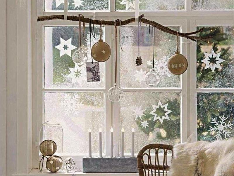 Comment décorer ses fenêtres pour Noël?