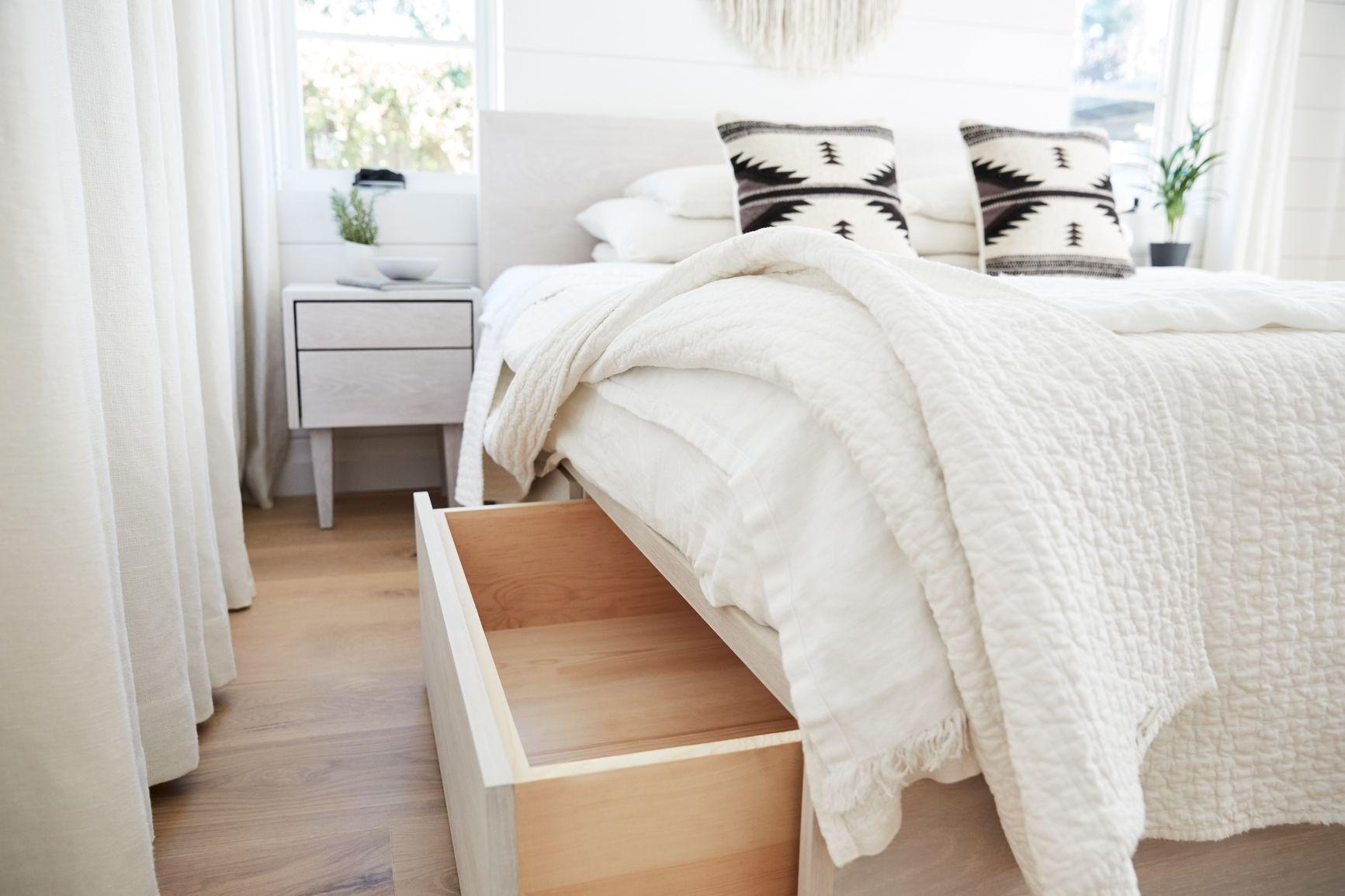 Optimiser l'espace sous le lit