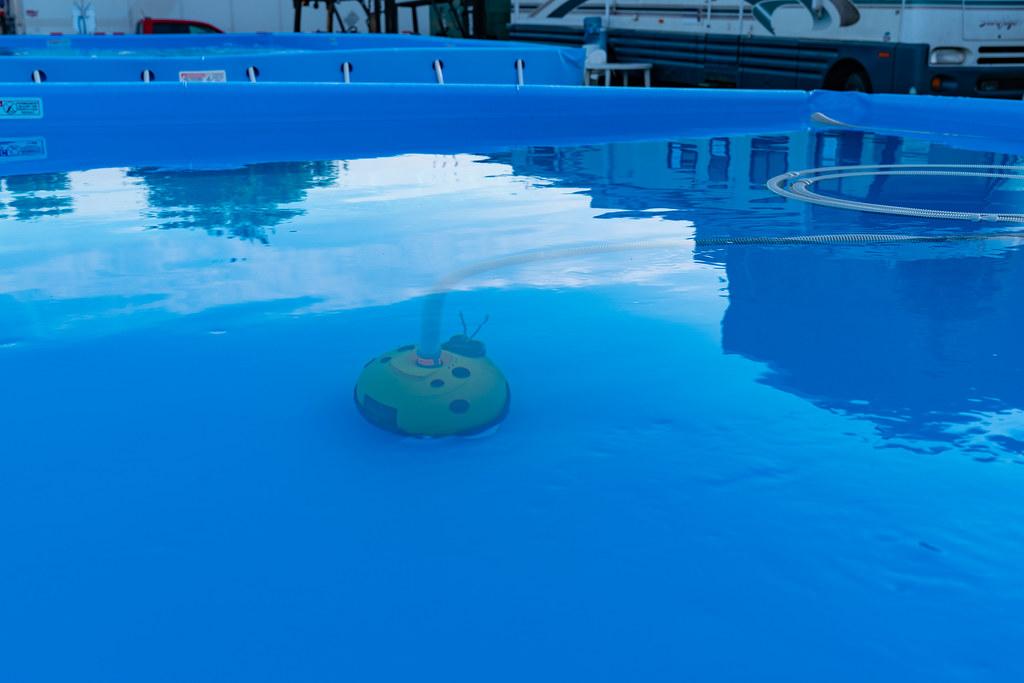 Robot de piscine actif